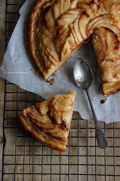 apple & rhubarb tart