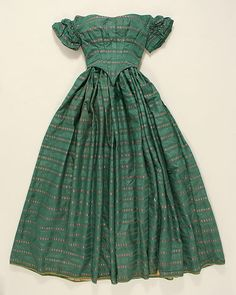 Ensemble (image 3) | American | 1850 | silk | Metropolitan Museum of Art | Accession #:  1976.257.3a–c