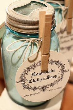 Laundry Detergent Gift Idea