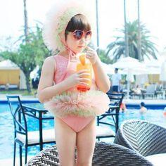 Stacy Ballerina Pink Swimsuit