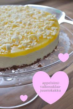 Food Cakes, Cupcake Cakes, Baking Recipes, Cake Recipes, Finnish Recipes, Sweet Pastries, International Recipes, Yummy Cakes, Chocolate Recipes