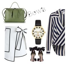 it's time for bows by ariatorva on Polyvore featuring polyvore fashion style Chicwish Miu Miu Jil Sander Kate Spade clothing