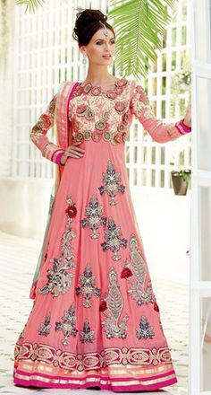593534b7d2 Buy Online Pink Anarkalis Below 7000 – Banglewale.com Diwali Sale, Designer  Anarkali,
