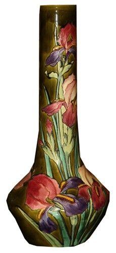 Longchamp Vase French Art Nouveau Ceramic Vase