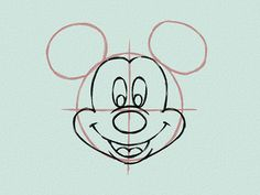 3 Ways to Draw Mickey Mouse - wikiHow