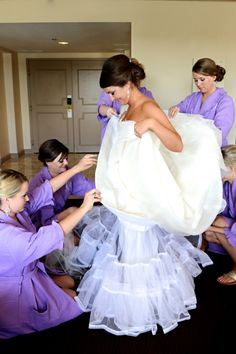 Savannah Weddings - Westin Savannah - Donna Von Bruening - purple color palette