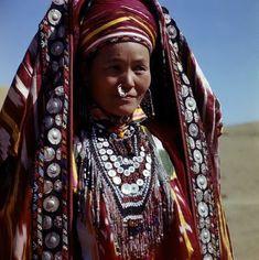 Uzbekistan   Woman from the south Surkhandarya region