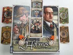 juego de mesa Holmes