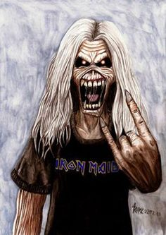 Iron Maiden ~ Eddie