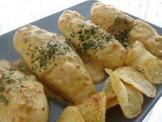 A falta de Lexatín... buenas son tortas: Pechugas de pollo en salsa de cebolla