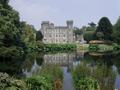 Johnston Castle - Ireland: This one reminds me of the lego castles my brother and I used to build as kids.  :)