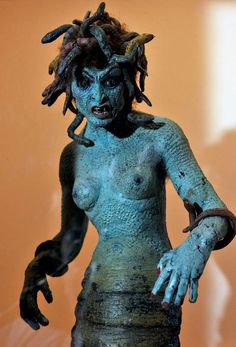 """Medusa from Ray Harryhausen's version of """"Clash of the Titans"""" (1981)"""