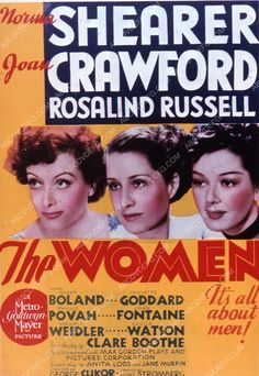 Joan Crawford Norma Shearer Rosalind Russell film The Women 35m-2378