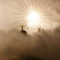 Jesus in the Clouds | Christ the Redeemer in the clouds sparkle | Flickr - Photo Sharing!