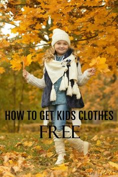 Paying for clothes in our house is a sin. Click to read how I get all my kids BRAND NAME clothes for FREE! You'll never go back to paying for clothes again!