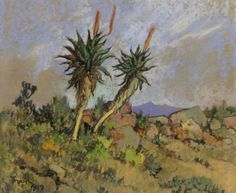 conrad theys - Google Search Landscape Art, Landscape Paintings, Tree Paintings, South Africa Art, South African Artists, Modern Landscaping, Pastel Art, Beautiful Paintings, Art Forms