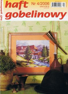 (1) Gallery.ru / Фото #1 - 2006 04 - tymannost Cross Stitch Magazines, Finding Yourself, Projects, Painting, Cross Stitch, Dots, Sew, Log Projects, Painting Art