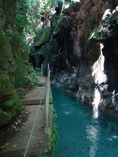 Puente de Dios río Escanela un lugar paradísaco en Sierra Gorda #Rio #Queretaro #Aventura