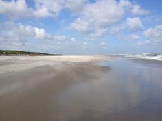 Het zand stuift op Vlieland
