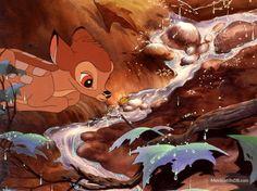 30 Day Disney Challenge-Day Favorite Song-Little April Showers from Bambi Bambi Disney, Disney Pixar, Walt Disney, Disney E Dreamworks, Disney Animation, Disney Love, Disney Magic, Disney Films, Disney Cartoons
