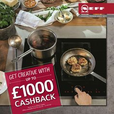 Claim up to £1,000 cashback with NEFF appliances!  If you purchase a NEFF oven alongside four or more qualifying NEFF appliances between 1st April 2020 – 31st July 2020, you are eligible to claim up to £500 cashback.  In addition, customers purchasing a qualifying venting hob can also claim an additional £500 cashback!  To learn more and claim your cashback offer, give us a call on 07793 279977 or email info@pentlandkitchens.com  #NEFF #contactlessdesign #kitchenproject #luxurykitchens…