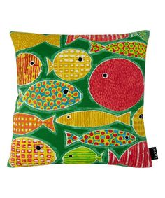 lava pillows Go Fish Indoor/Outdoor Throw Pillow | zulily