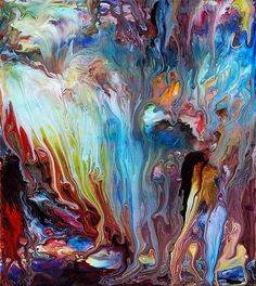 Abstract Fluid Painting 60 | This is fluid painting 60, acry… | Flickr