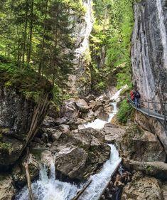 Wandern im Allgäu: Pöllatschlucht mit eisernem Steg