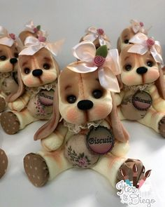 Porcelain Clay, Cold Porcelain, Pasta Flexible, Aesthetic Anime, Biscuits, Teddy Bear, Toys, Instagram, Cute