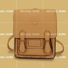 What can I say I really like the Michael Kors Logo Signature Medium Apricot Backpacks.