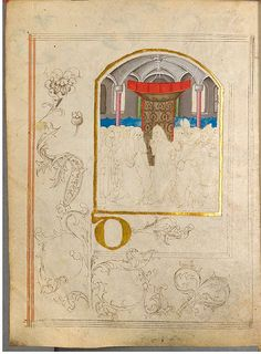 The illuminated sketchbook of Stephan Schriber, 1494. #germany #15thcentury