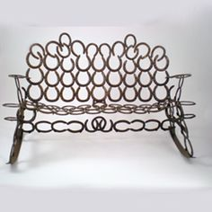 Genial Rocking Bench Made Wide Enough For 3 But If You Look Closely, I Shaped The