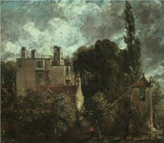 The Grove or Admiral's House (1821) / by John Constable