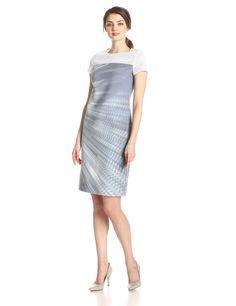 Cassie Sensation Print Shift Dress by ELIE TAHARI