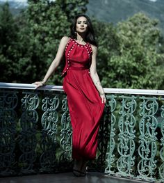 Shay Mitchell Stuns in the Campaign for Raven + Lily's Holiday Collection from InStyle.com
