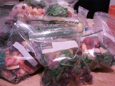 Smoothie packets- what a great idea!| So...Whatcha Eating? A Gastric Bypass Patient's Guide to Eating REAL Food
