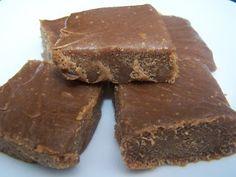Healthy 3 ingredient fudge. Yummmmm!