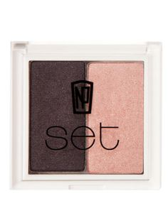 A Plum ArrangementA Plum Arrangement       Use two purple-based shades to create dimension against water-colored eyes. Perdis recommends liberally applying the lighter shade all-over the lid and up to the brow bone. Use the darker plum tint to create dimension where the eye socket is naturally deepest.