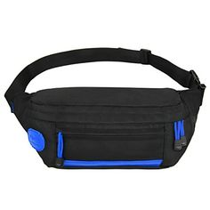 Ryaco [Big Pocket] R907 Waist Pack, Outdoor Sports Waist Bag, Bum bag, Running belt, Exercise Runner Belt, Fitness Workout Belt, Race Belt, Fanny Pack, Workout Pouch for Hiking, Climbing. Suitable for all phone models with very bulky cases. It can carry water bottle (550ml of water), thin T-shirt, face towel, handkerchief, paper napkin, earphones, keys, cards,cash, wallet, fitness gear, energy bars, passport well. Put in or take out things easily. 1 roomy pocket with 2 openings and zipper…