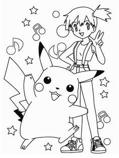 Dibujos para Colorear Pokemon 22
