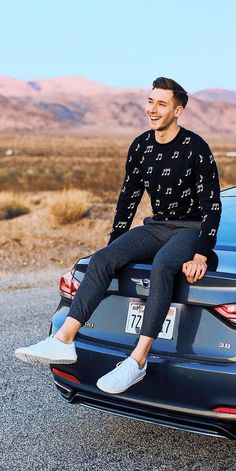Incredible Casual Outfit Inspiration For Men Style 18 Mens Fashion Blog, New Fashion Trends, Men's Fashion, Autumn Fashion, Fashion Design, Fashion Ideas, Stylish Men, Men Casual, Casual Fall