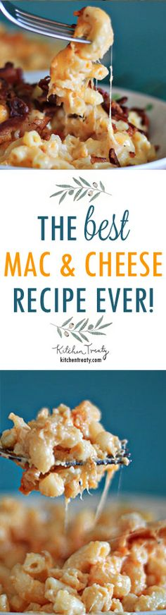 The Best Macaroni and Cheese Recipe Ever - Seriously. Creamy, cheesy, straightforward, ooey, gooey - this macaroni and cheese will knock your socks off. (I would use gf pasta though) Best Macaroni And Cheese Recipe Ever, Macaroni Cheese Recipes, I Love Food, Good Food, Yummy Food, Great Recipes, Dinner Recipes, Favorite Recipes, Pasta Dishes