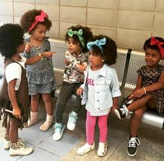 Gorgeous Little Ladies - http://community.blackhairinformation.com/hairstyle-gallery/kids-hairstyles/gorgeous-little-ladies/