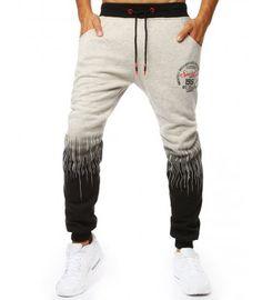 Pánske teplákové joggery svetlošedé Sweatpants, Fashion, Moda, Fashion Styles, Fashion Illustrations