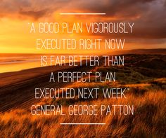Your action for today is to take the next action - however small - on a stalled project. #quoteoftheday #generalgeorgepatton #planning #action #have2travel #have2sendcards