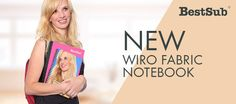 New Wiro Fabric Notebook from BestSub | New Products | What's New?