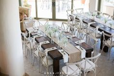Rustic wooden tables and a neutral decor for Lesley's baby shower. Baby's gender was a surprise until birth, that's why we kept the baby shower in neutral colors. Photo by Ana & Jerome. . #cabo #cabosanlucas #loscabos #wedding #cabocatering #cateringcabo #catering #loscaboscatering #lazygourmet #tables #decor #babyshower
