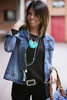 """Pisando fuerte"" : Alice rises up Denim Fashion, Look Fashion, Winter Fashion, Fashion Outfits, Womens Fashion, Fashion Trends, Looks Chic, Casual Looks, Looks Jeans"