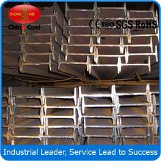 GB Standard Hot Rolled I Beam Steel Rolled I Beam Steel, GB Rolled I Beam Steel, Standard Hot Rolled I Beam Steel chinacoal07      we provide service of enterprise's customs declaration, inspection.    Product Introduction Hot rolled I beam steel Web Depth: 100-630mm;Flange Width: 68-180mm  Web Thickness: 4.5-17mm;Flange Thickness:7.6-15.8mm