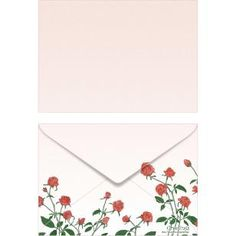 Rose ISO C6 0001,Envelopes ,Card,pink,multi-purpose,C6 size envelope,flower,rose